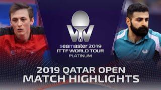 【動画】ピッチフォード VS ノシャド・アラミヤン 2019 プラチナカタールオープン ベスト64