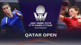 【動画】エヴァ・オードロバー VS ミッテルハム 2019 プラチナカタールオープン ベスト128