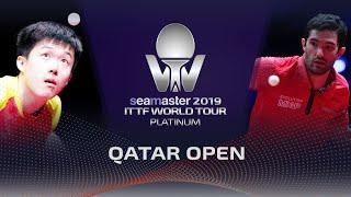 【動画】王楚欽 VS ルベッソン 2019 プラチナカタールオープン ベスト128