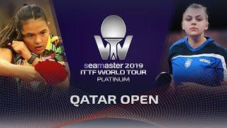 【動画】アドリアーナ・ディアス VS SURJAN Sabina 2019 プラチナカタールオープン ベスト128