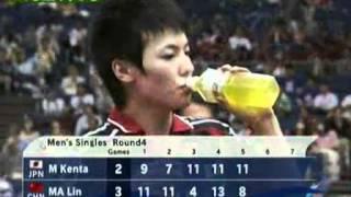 【動画】松平健太 VS 馬琳 卓球選手権大会ベスト16