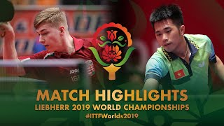 【動画】NGUYEN Duc Tuan VS JUHASZ Patrik 2019 世界選手権
