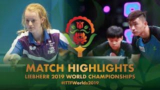 【動画】MORRISON Calum・PLAISTOW Rebecca VS LEONG Chee Feng・LYNE Karen 2019 世界選手権 ベスト128