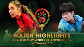 【動画】SU Pei-Ling VS MELAIKAITE Auguste 2019 世界選手権