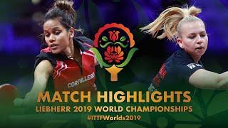 【動画】CHUNG Rheann VS TUBIKANEC Ivana 2019 世界選手権