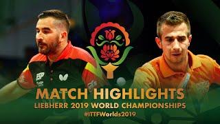 【動画】カンテロ VS STANOJKOVSKI Kristijan 2019 世界選手権