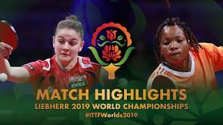 【動画】FEHER Orsolya VS KAMENAN Christine 2019 世界選手権