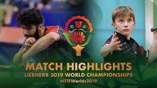 【動画】ABDULWAHHAB Mohammed VS MORRISON Calum 2019 世界選手権