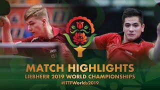 【動画】アレグロ・マーティン VS JUHASZ Patrik 2019 世界選手権
