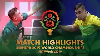 【動画】MAJOROS Bence VS AHMEDOV Ravil 2019 世界選手権