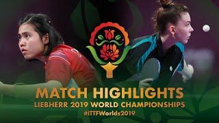 【動画】TAILAKOVA Mariia VS SAWETTABUT Jinnipa 2019 世界選手権