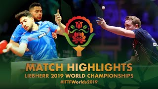 【動画】コラー・MEDINA Jan VS MICHELY Gilles・REINHOLDS Arturs 2019 世界選手権 ベスト128