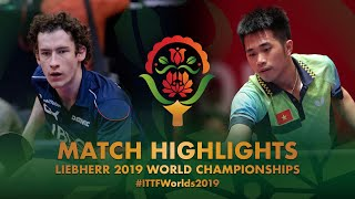 【動画】GLOD Eric・ルカ・ムラデノビッチ VS DOAN Ba Tuan Anh・NGUYEN Duc Tuan 2019 世界選手権 ベスト64