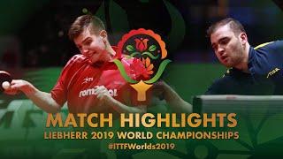 【動画】SGOUROPOULOS Ioannis VS SIPOS Rares 2019 世界選手権 ベスト32