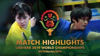 【動画】平野美宇 VS KIM Jin Hyang 2019 世界選手権 ベスト128