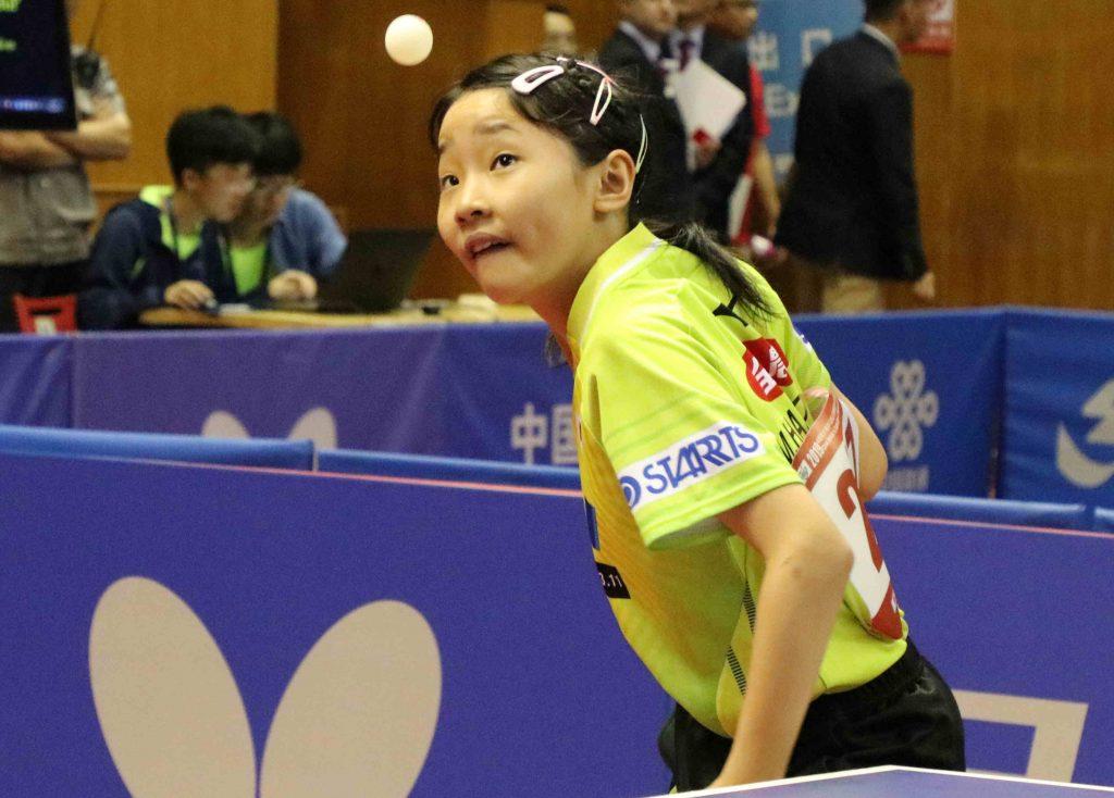 張本美和は計3つのメダルを獲得 ジュニアサーキット・中国大会最終日結果 卓球