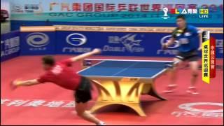 【動画】許昕 VS ガオニン 2014年中国オープン準々決勝