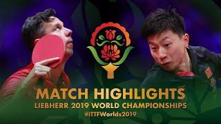 【動画】馬龍 VS ブラディミル・サムソノフ 2019 世界選手権 ベスト32
