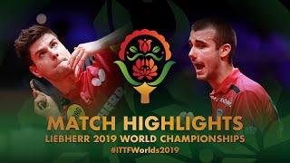 【動画】ドミトリ・オフチャロフ VS PUCAR Tomislav 2019 世界選手権 ベスト32