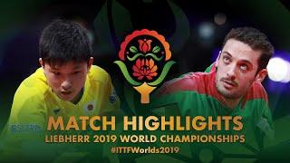 【動画】張本智和 VS マルコス・フレイタス 2019 世界選手権 ベスト32