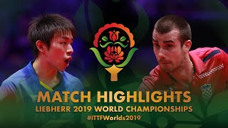 【動画】丹羽孝希 VS PUCAR Tomislav 2019 世界選手権 ベスト16