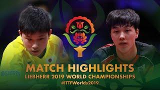 【動画】張本智和 VS 安宰賢 2019 世界選手権 ベスト16