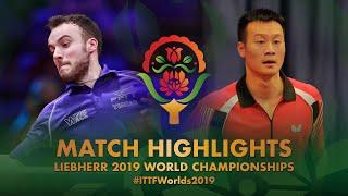 【動画】ゴジ・シモン VS ワン・ヤン 2019 世界選手権 ベスト16