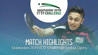 【動画】DANI Mudit VS POPOVIC Marko ITTFチャレンジ・セルビアオープン