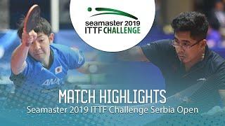 【動画】町飛鳥 VS BORO Birdie ITTFチャレンジ・セルビアオープン
