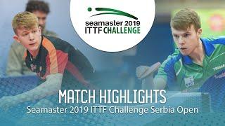 【動画】JARVIS Tom VS CVETKO Tilen ITTFチャレンジ・セルビアオープン