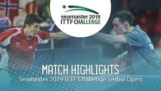 【動画】KLEIN Dennis VS ZELINKA Jakub ITTFチャレンジ・セルビアオープン