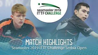 【動画】JARVIS Tom VS HAZIN Jeremy ITTFチャレンジ・セルビアオープン ベスト16