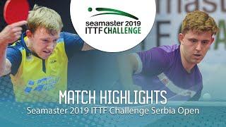 【動画】ラスムッセン VS RANEFUR Elias ITTFチャレンジ・セルビアオープン ベスト64