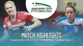 【動画】PETEK Petra VS LUPULESKU Izabela ITTFチャレンジ・セルビアオープン ベスト64