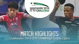 【動画】吉田雅己 VS アブデル=カデル・サリフ ITTFチャレンジ・セルビアオープン ベスト64