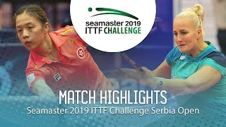 【動画】ZHANG Wenjing VS バラージョバー ITTFチャレンジ・セルビアオープン ベスト16