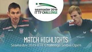 【動画】LANDRIEU Andrea VS コイッチ ITTFチャレンジ・セルビアオープン 準々決勝