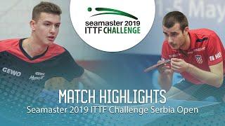【動画】PUCAR Tomislav VS KATSMAN Lev ITTFチャレンジ・セルビアオープン ベスト16
