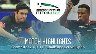 【動画】アファナドール VS アブデル=カデル・サリフ ITTFチャレンジ・セルビアオープン 準決勝