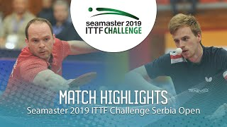 【動画】ドリンコール VS LANDRIEU Andrea ITTFチャレンジ・セルビアオープン 準決勝