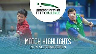 【動画】WEI Shihao VS NOVAK Andraz ITTFチャレンジ・スロベニアオープン