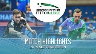 【動画】POSCH Lars VS GRAMPOVCNIK Miha ITTFチャレンジ・スロベニアオープン