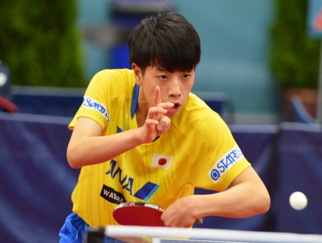 塩見真希と篠塚大登はU21の準決勝進出ならず 宇田幸矢らは2回戦へ 2019ベラルーシオープン 卓球