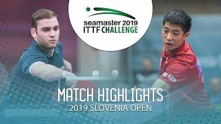 【動画】SGOUROPOULOS Ioannis VS WEI Shihao 2019 ITTFチャレンジ・スロベニアオープン