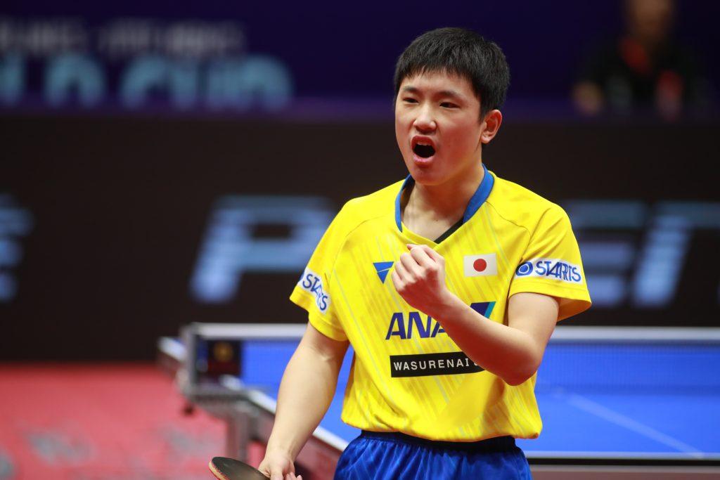 張本智和は日本男子初のワールドカップ銀メダリストに 2019男子ワールドカップ 卓球