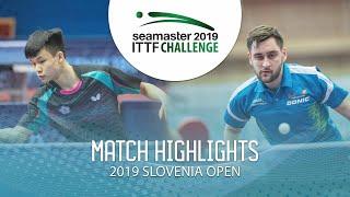 【動画】FENG Yi-Hsin VS POSCH Lars 2019 ITTFチャレンジ・スロベニアオープン