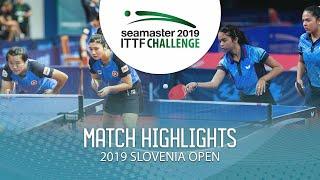 【動画】アドリアーナ・ディアス・DIAZ Melanie VS LIU Qi・MAK Tze Wing 2019 ITTFチャレンジ・スロベニアオープン