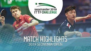 【動画】LEVENKO Andreas VS TIO Nicholas 2019 ITTFチャレンジ・スロベニアオープン ベスト32