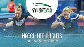【動画】MIGOT Marie VS KUKULKOVA Tatiana 2019 ITTFチャレンジ・スロベニアオープン ベスト64