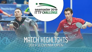 【動画】ルボミール・ピシュテイ VS GLOD Eric 2019 ITTFチャレンジ・スロベニアオープン ベスト64